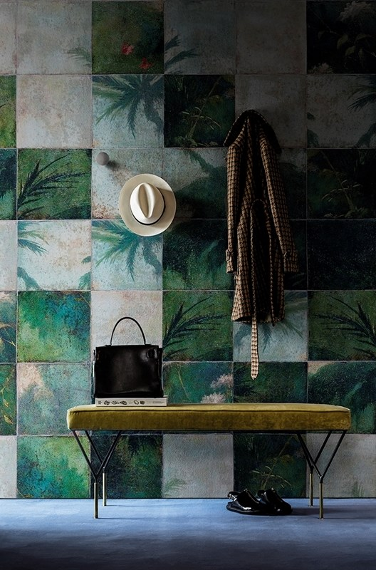 Wall&Deco Exotic-damier
