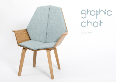 Grafik Chair von Jonas Hoeer