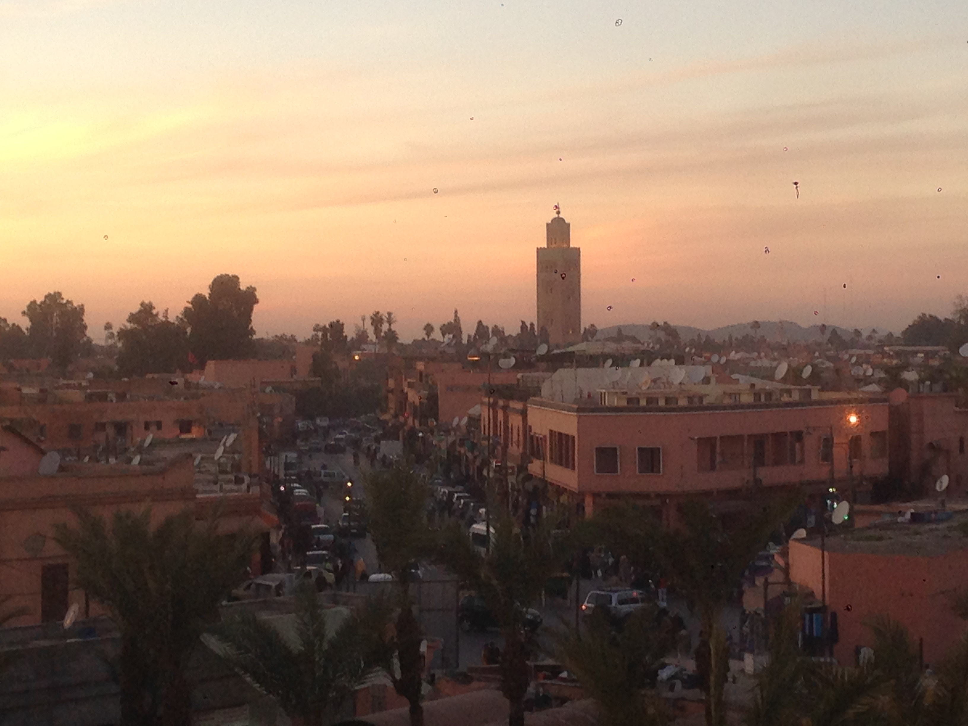 Abendstimmung in Marrakech