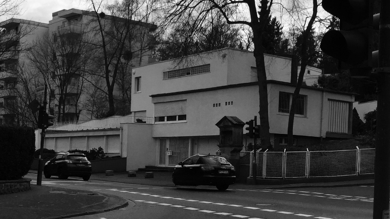Bauhaus Villa in Bad Godesberg