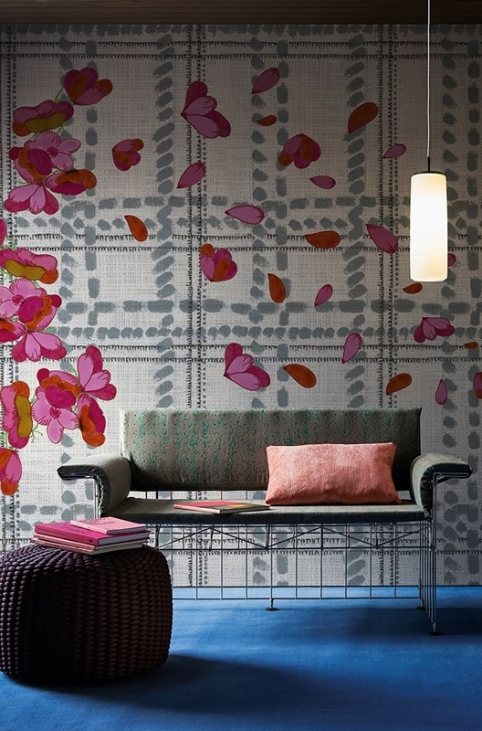 Wall&Deco Scottish-blumen