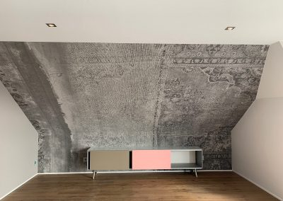 Wall & Deco Tapete nachher